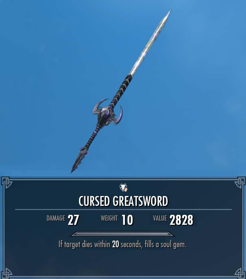 Cursed Greatsword