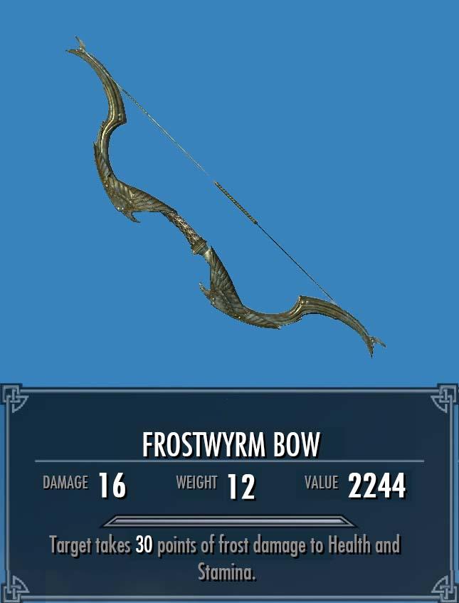 Frostwyrm Bow