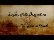Legacy of the Dragonborn Museum Completion Guide