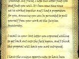 Letter from Auryen