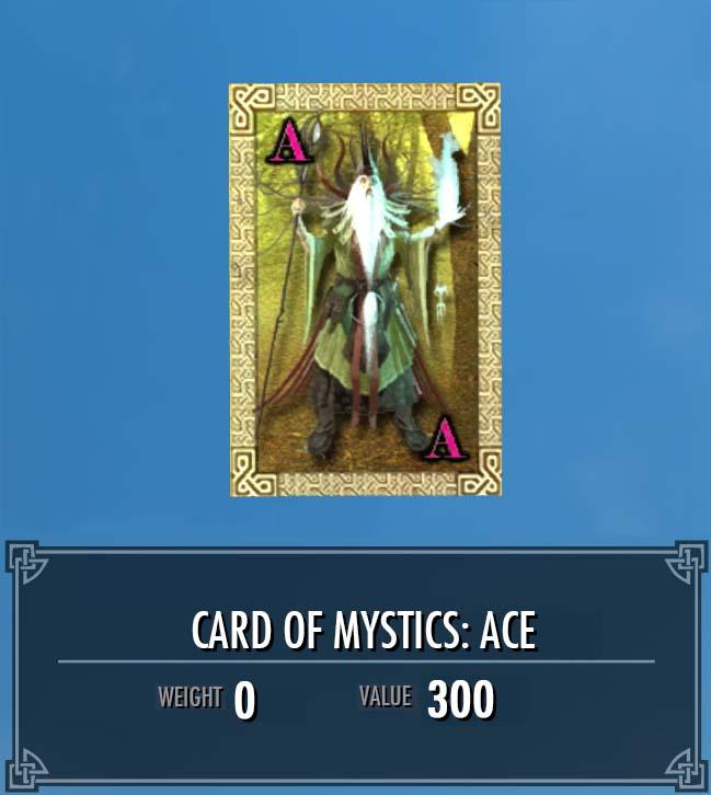 Card of Mystics: Ace