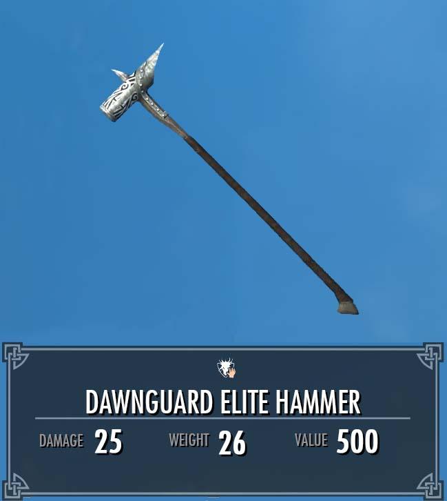 Dawnguard Elite Hammer