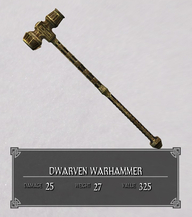 Dwarven Warhammer