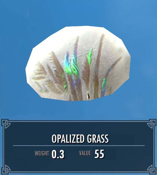 Opalized Grass
