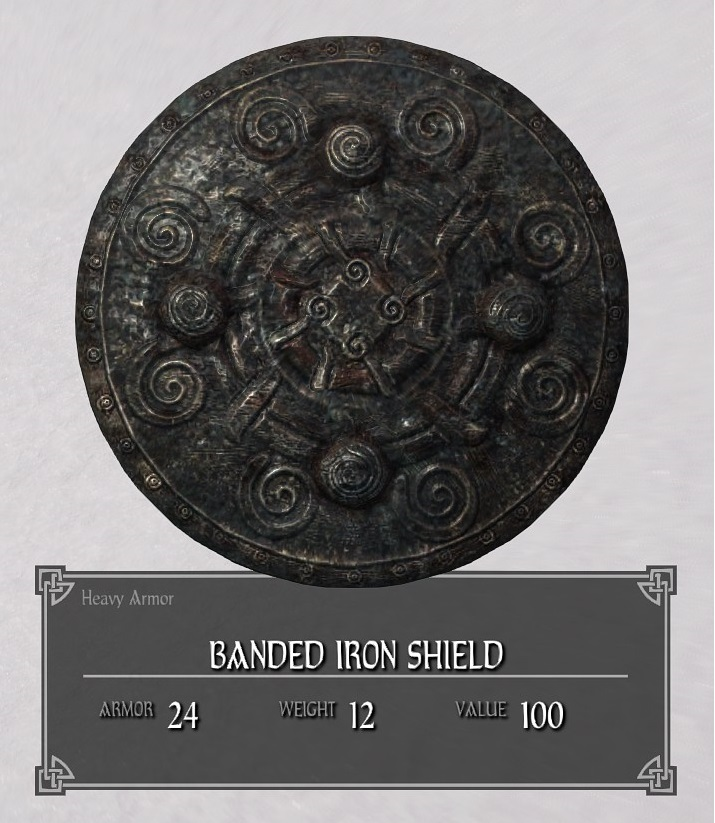 Banded Iron Shield