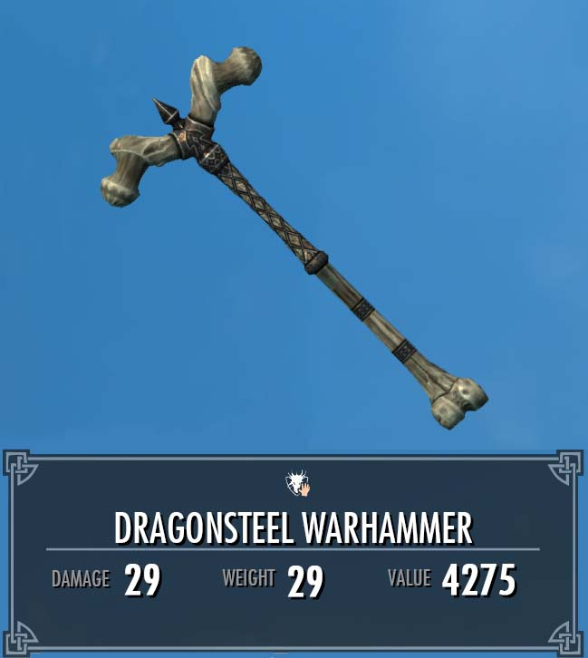 Dragonsteel Warhammer