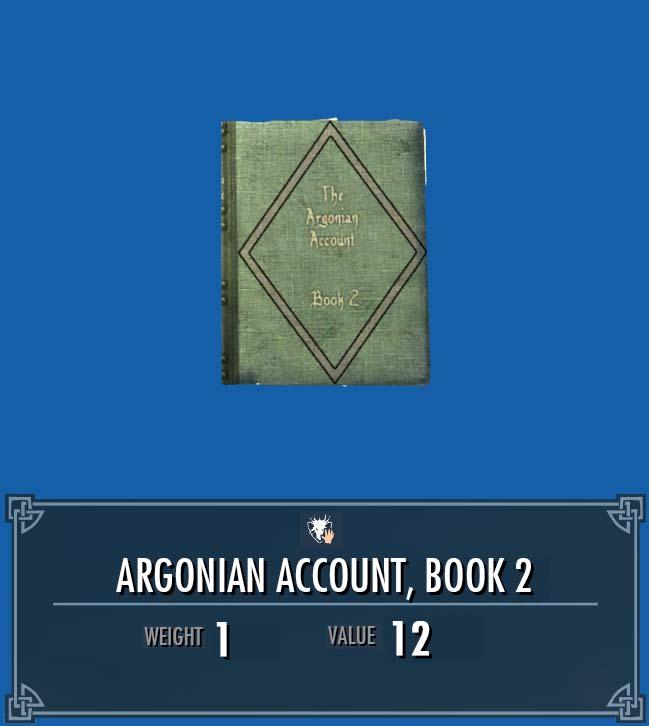 Argonian Account, Vol. 2