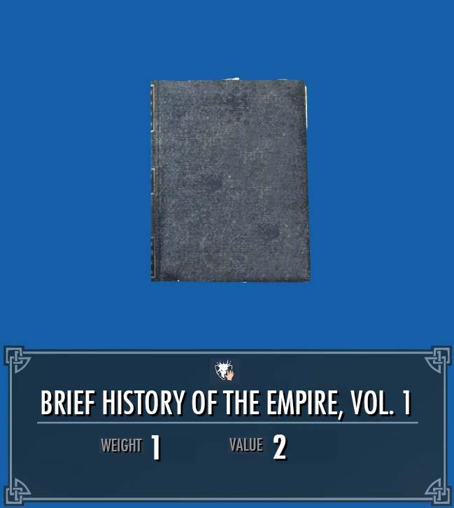 Brief History of the Empire, Vol. 1