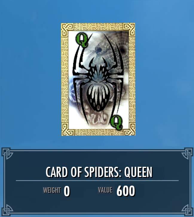 Card of Spiders: Queen