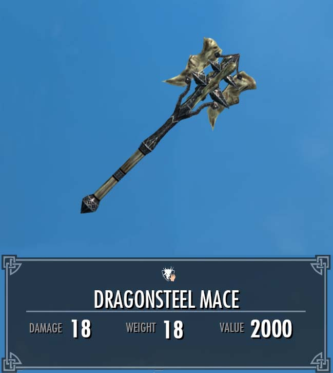 Dragonsteel Mace