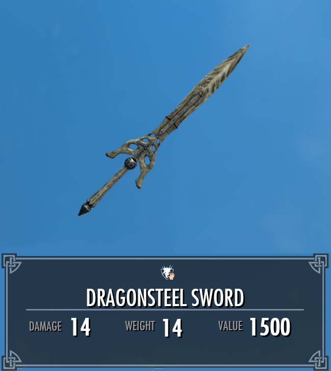Dragonsteel Sword