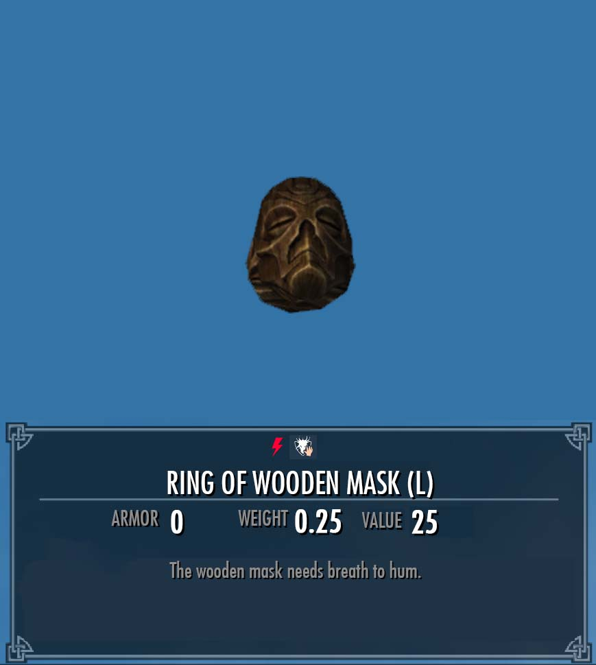 Ring of Wooden Mask