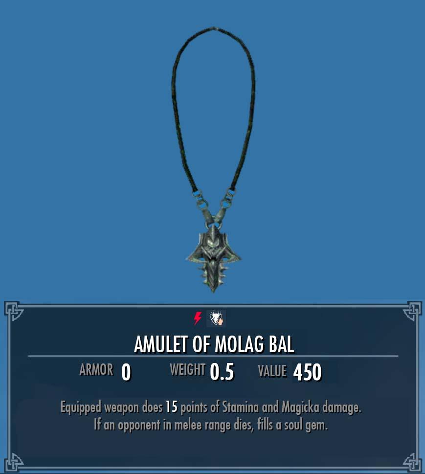 Amulet of Molag Bal