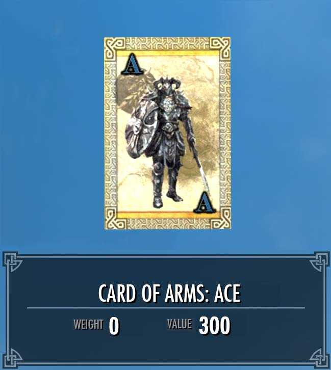 Card of Arms: Ace
