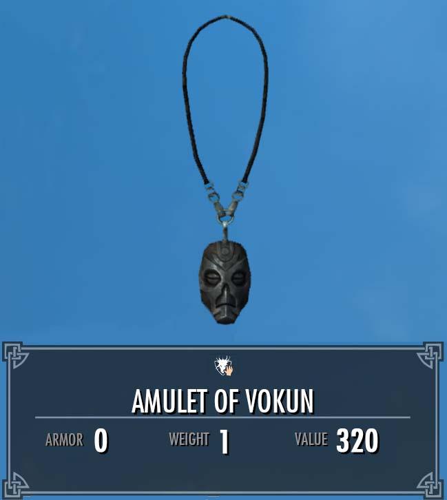 Amulet of Vokun