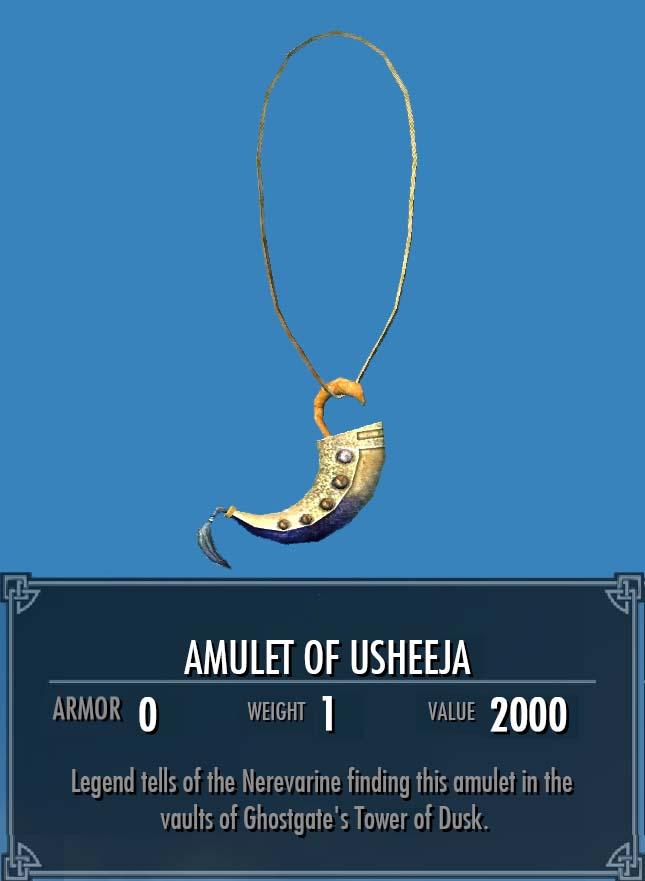 Amulet of Usheeja