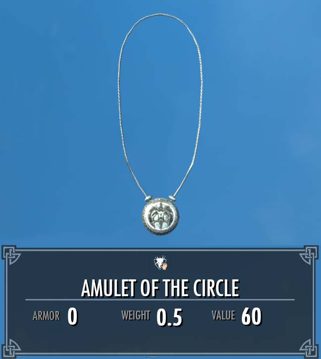 Amulet of the Circle