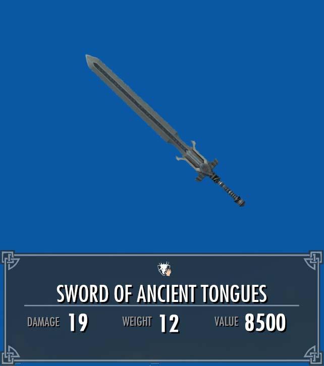 Sword of Ancient Tongues