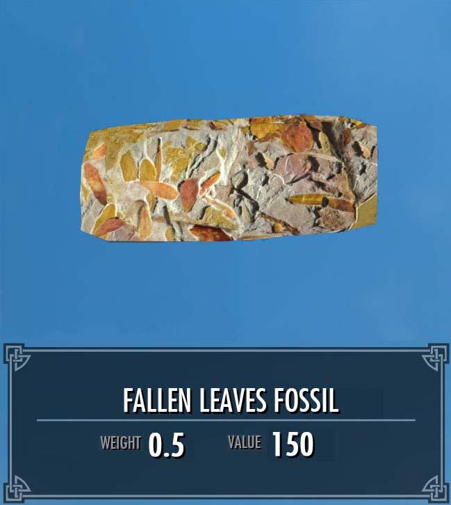 Fallen Leaves Fossil