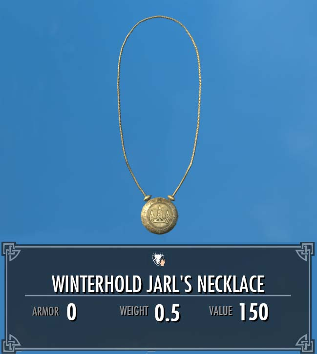 Winterhold Jarl's Necklace