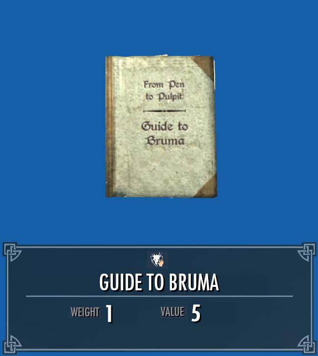 Guide to Bruma