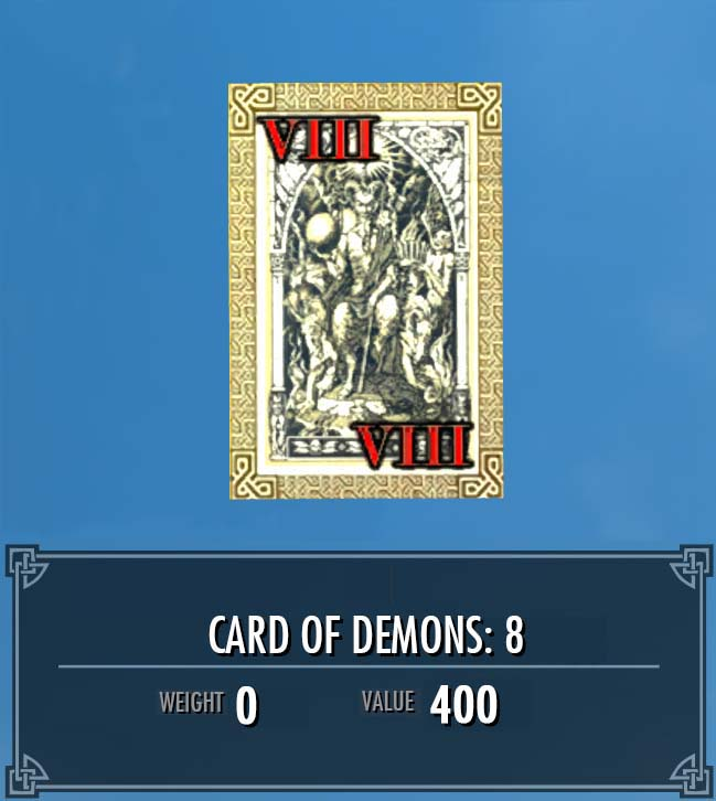 Card of Demons: 8