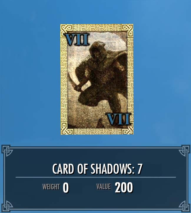 Card of Shadows: 7