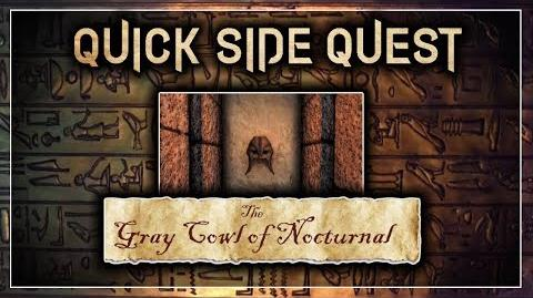 """Quick Side Quest Guide! - """"The Gray Cowl of Nocturnal"""" - Skyrim SE (Legacy)"""