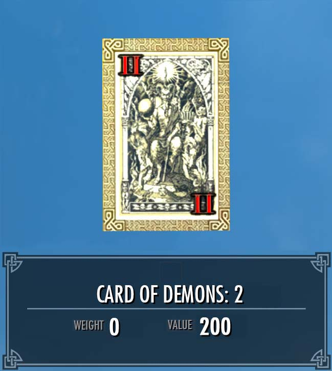Card of Demons: 2