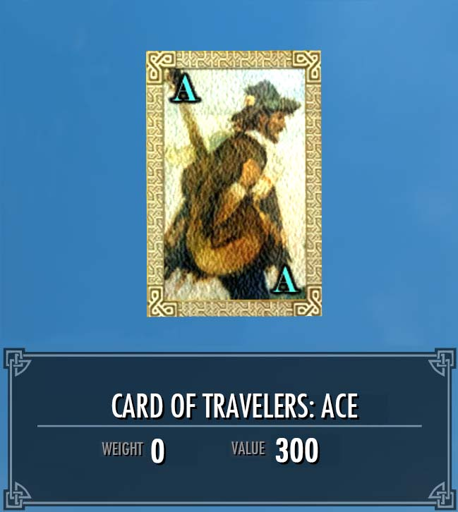 Card of Travelers: Ace