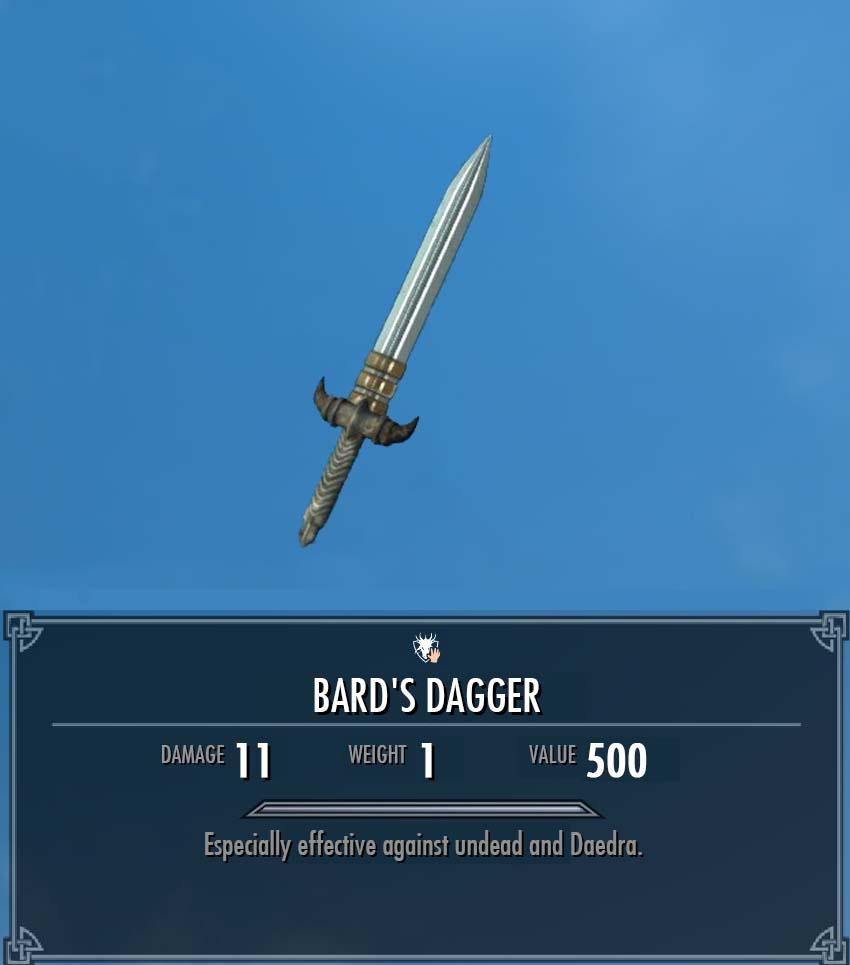Bard's Dagger