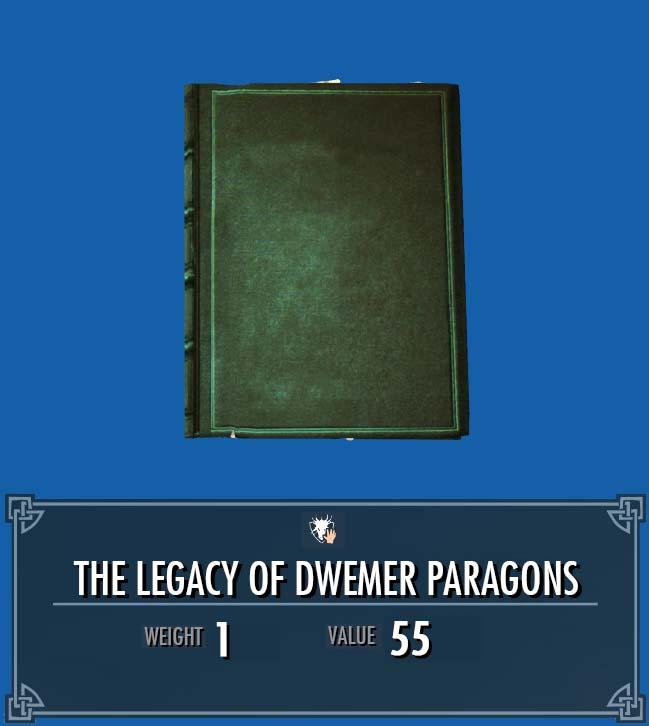 The Legacy of Dwemer Paragons