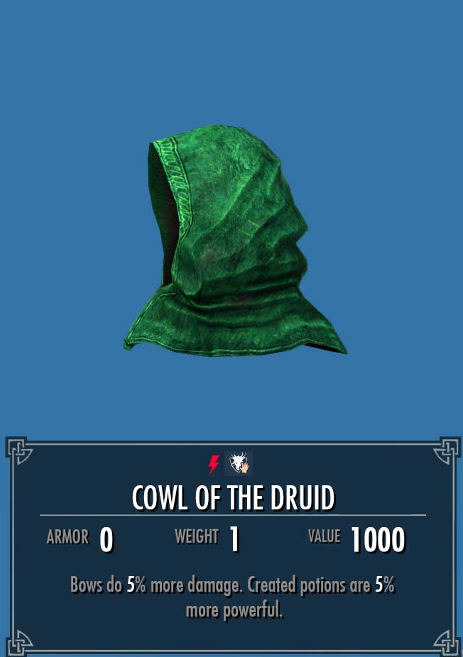 Cowl of the Druid