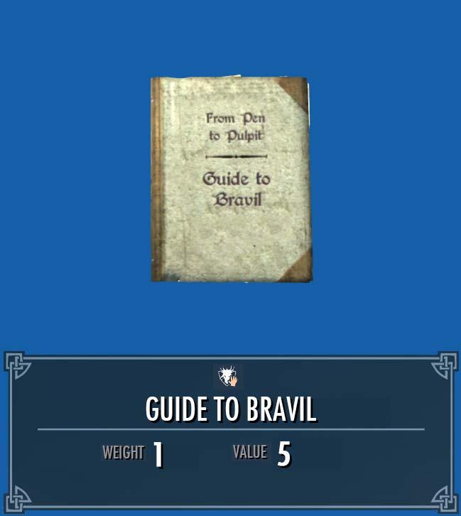 Guide to Bravil