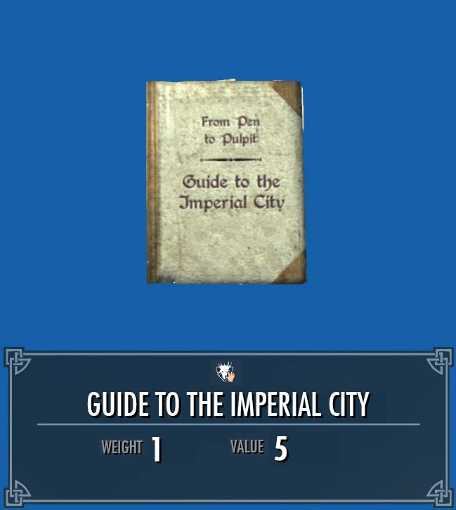 Guide to the Imperial City