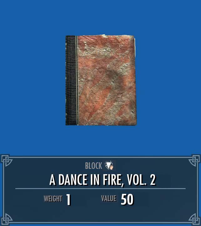 A Dance in Fire, Vol. 2