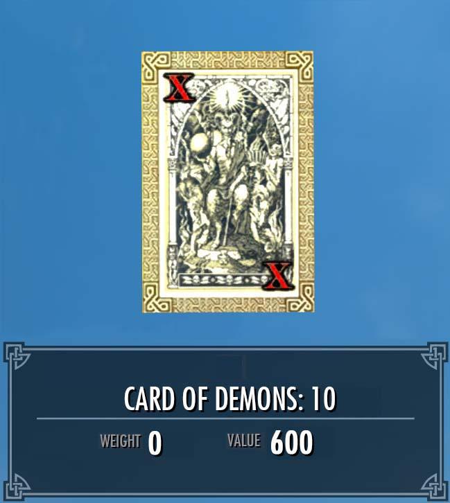 Card of Demons: 10