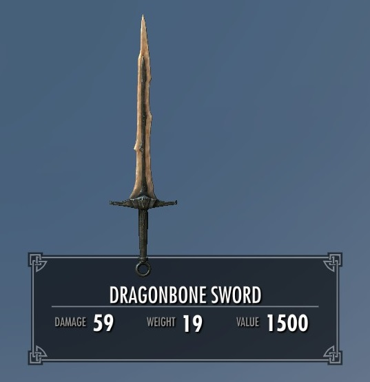 Dragonbone Sword