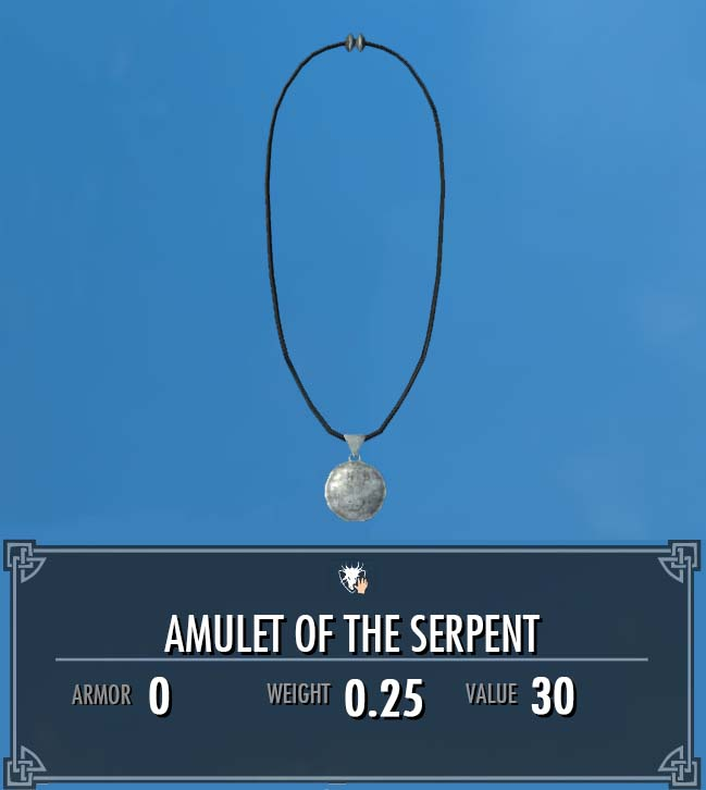 Amulet of the Serpent
