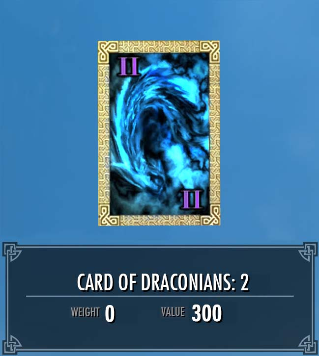 Card of Draconians: 2