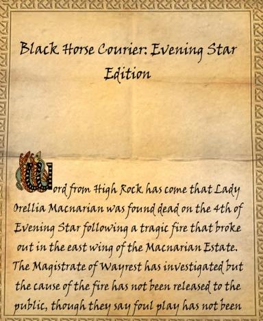 Black Horse Courier