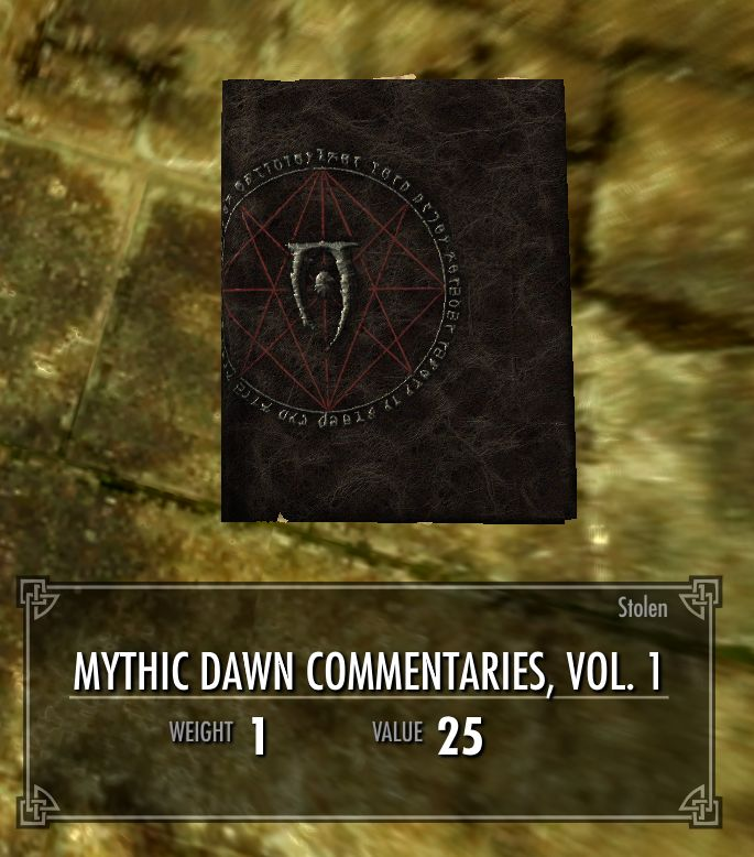 Mythic Dawn Commentaries, Vol. 1