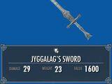 Jyggalag's Sword (LotD)