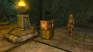 Ruins of Rkund-Crate of Torches