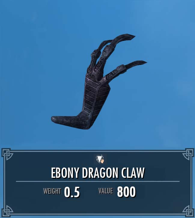 Ebony Dragon Claw