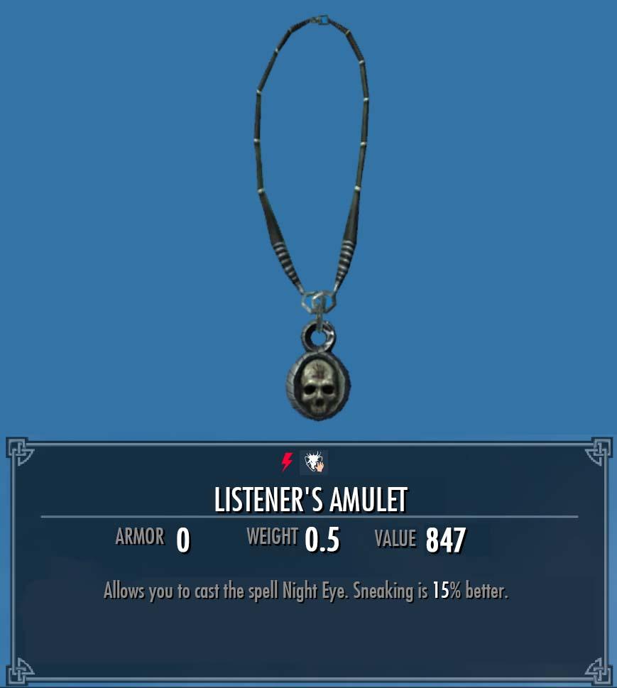 Listener's Amulet