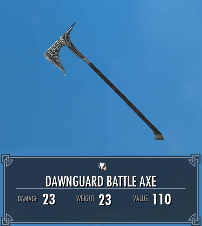 Dawnguard Battle Axe (Dawnguard Arsenal)
