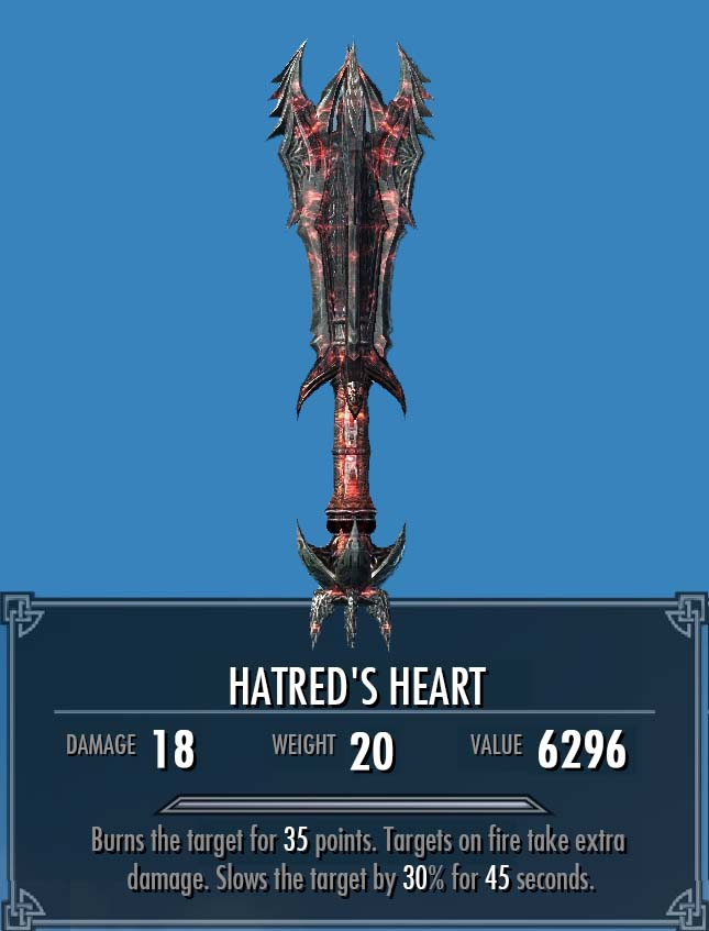 Hatred's Heart (More Interesting Loot)