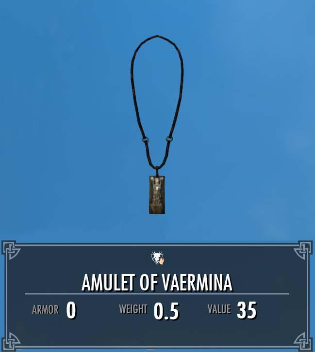 Amulet of Vaermina