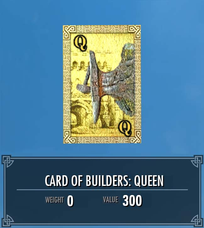Card of Builders: Queen